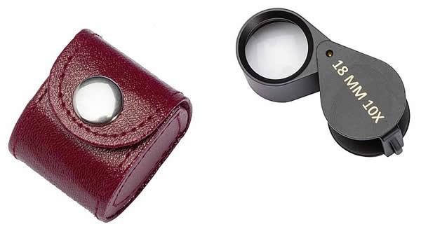Faller 170527 - Pocket magnifier with case