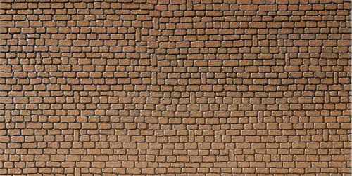Faller 170611 - Wall card, Sandstone, red