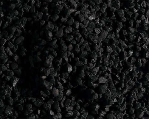 Faller 170723 - Scatter material, coal, black, 140 g