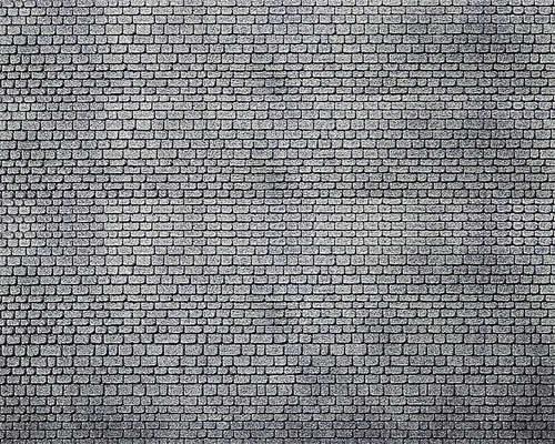 Faller 170805 - Decorative sheet, Ashlars, grey