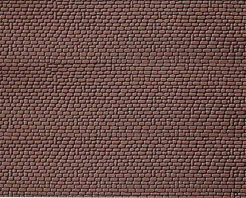 Faller 170806 - Decorative sheet, Sandstone, red