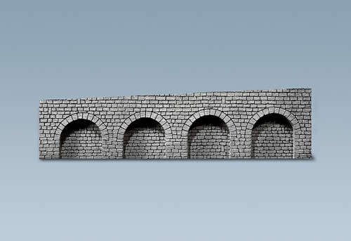 Faller 170839 - Decorative sheet arcades, Natural stone ashlars