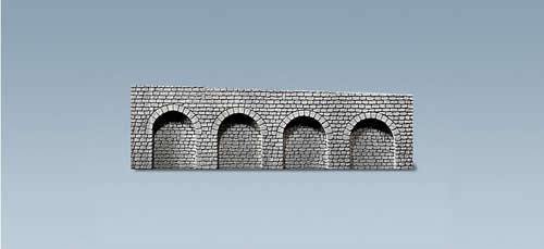Faller 170840 - Decorative sheet arcades, Natural stone ashlars