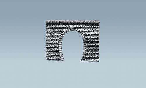 Faller 170880 - Decorative sheet tunnel portal Pros, Natural stone ashlars