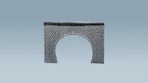 Faller 170881 - Decorative sheet tunnel portal Pros, Natural stone ashlars