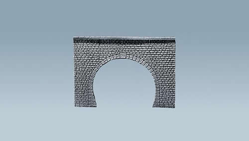 Faller 170881 - Decorative sheet tunnel portal Pros, Natural stone ashlars