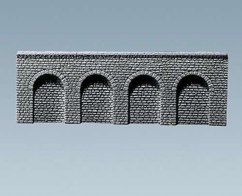 Faller 170890 - Decorative sheet arcades Profi, Natural stone ashlars