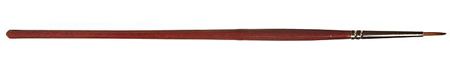 Faller 172105 - Round brush with brown tip, synthetic,, size 1