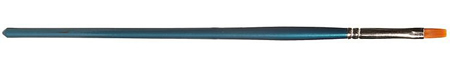 Faller 172125 - Flat brush, synthetic, size 3
