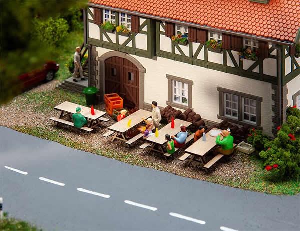 Faller 180304 - 4 Picnic benches