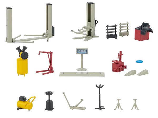 Faller 180356 - Car workshop equipment