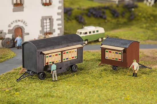 Faller 180385 - 2 Beekeepers trailers