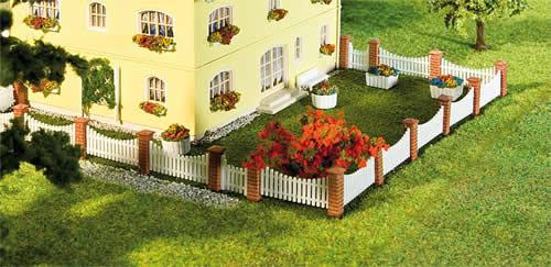 Faller 180429 - Front garden fencing, 385 mm
