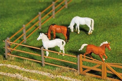 Faller 180430 - Paddock fence I, 876 mm