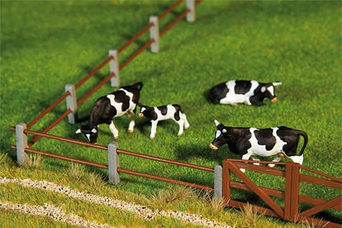 Faller 180431 - Paddock fence II, 876 mm