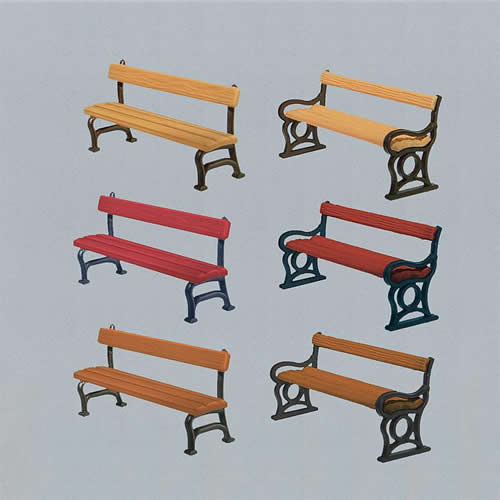 Faller 180443 - 12 Park benches
