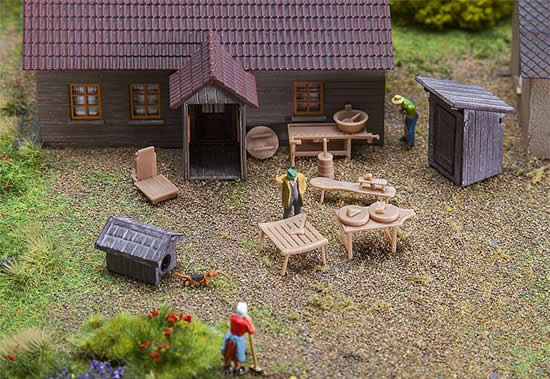 Faller 180449 - In the countryside Decorative kit