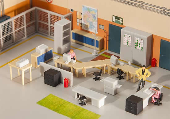 Faller 180454 - Office furnishings