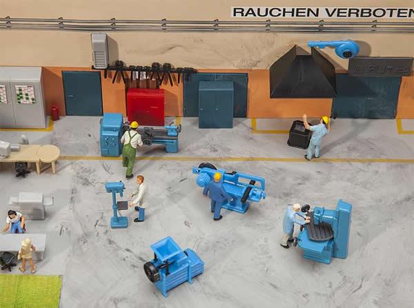 Faller 180456 - Locksmith's shop equipment