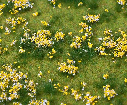 Faller 180467 - PREMIUM Landscape segment, Flowering meadow, colourful