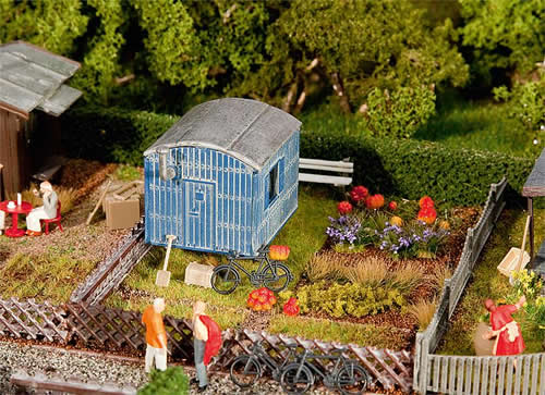 Faller 180490 - Allotments with contractors trailer