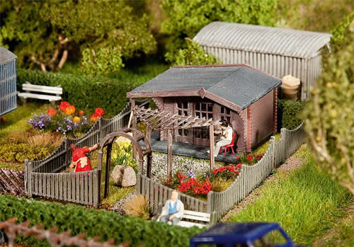 Faller 180491 - Allotments with summer house