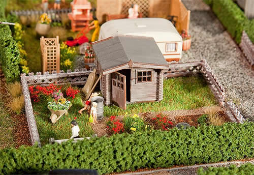 Faller 180492 - Allotments with small garden house