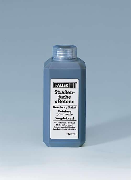 Faller 180507 - Concrete Roadway paint, 250 ml