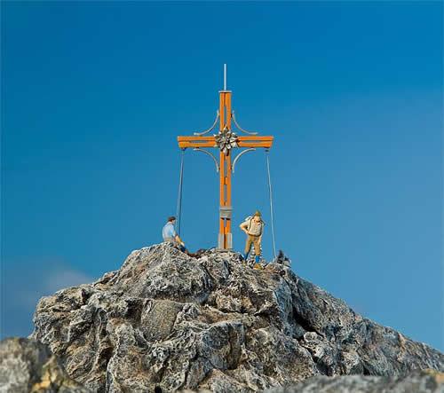 Faller 180547 - Summit cross with mountain peak