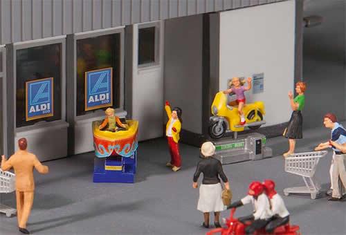Faller 180608 - Kiddie Rides Rocking automats
