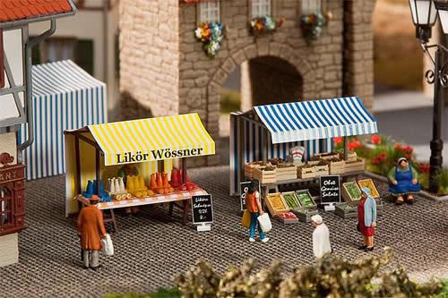 Faller 180615 - Liquor and fruit stand
