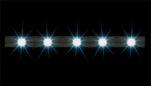 Faller 180648 - 2 LED bar spotlights, white