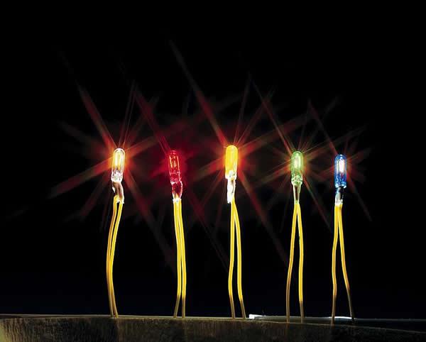Faller 180673 - Micro-cable bulb, yellow