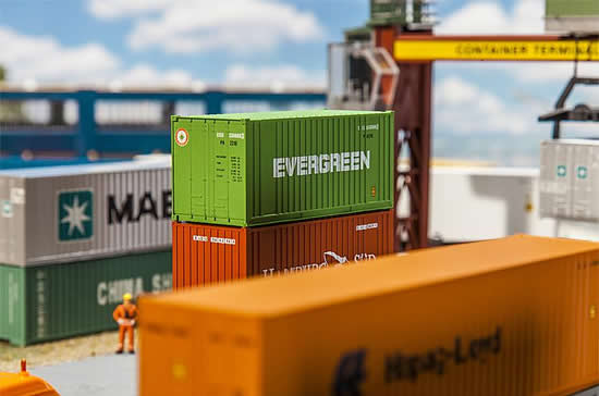 Faller 180821 - 20' Container EVERGREEN