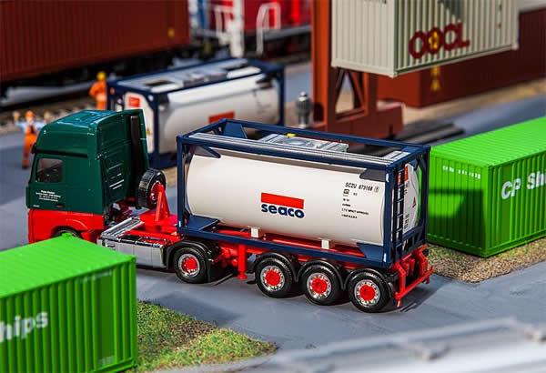 Faller 180832 - 20 Tank container SEACO