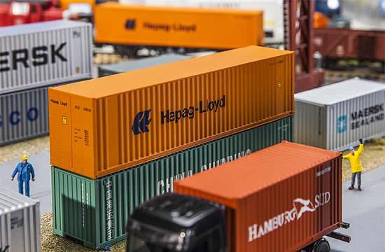 Faller 180841 - 40 Hi-Cube Container Hapag Lloyd