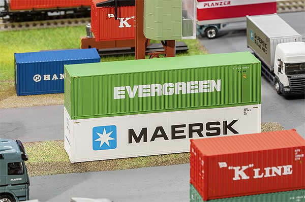Faller 180846 - 40 Hi-Cube Container EVERGREEN