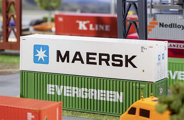 Faller 180847 - 40 Hi-Cube Refrigerator Container MAERSK