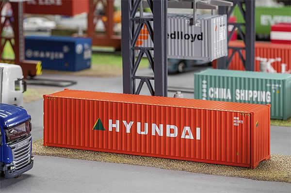 Faller 180849 - 40 Hi-Cube Container HYUNDAI