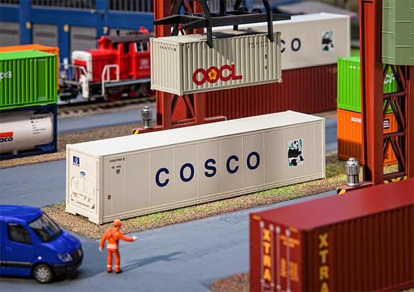Faller 180851 - 40 Hi-Cube Refrigerator Container COSCO