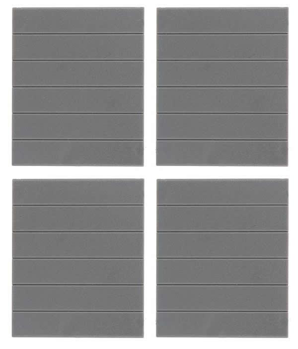 Faller 180880 - Goldbeck, 4 Closed wall parts
