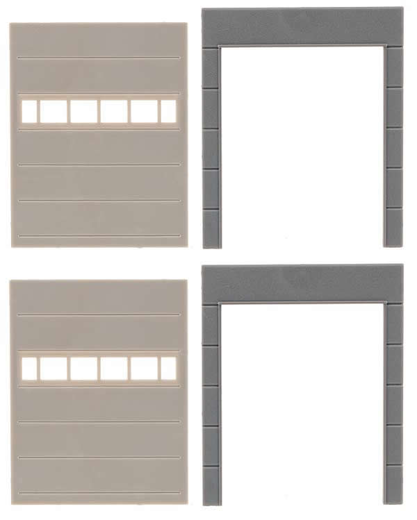Faller 180881 - Goldbeck, 2 Wall parts with gates