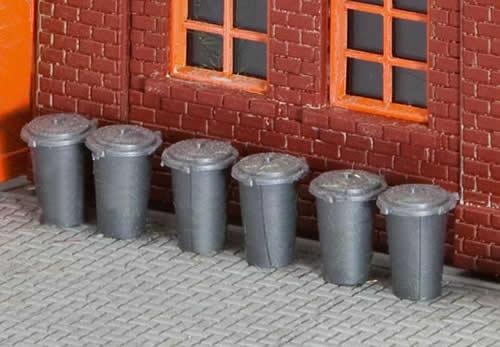 Faller 180905 - 10 Rubbish bins