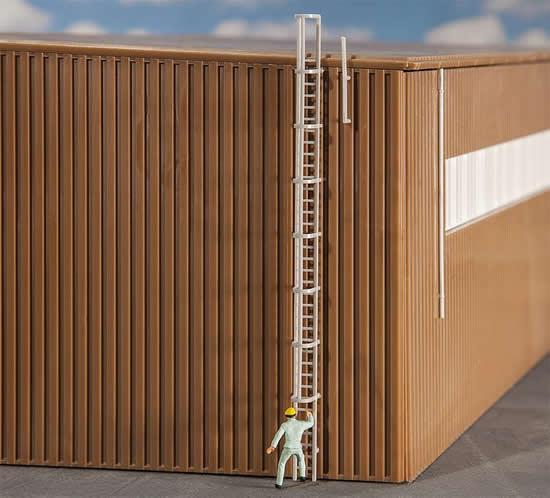 Faller 180922 - Fire ladder and railing