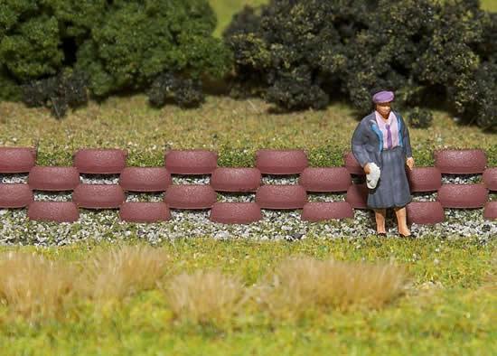 Faller 180929 - 80 Retaining wall blocks