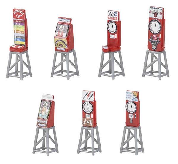 Faller 180946 - 7 Funfair slot machines