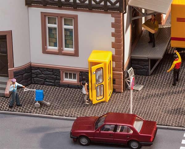 Faller 180955 - Bundespost Telephone booth
