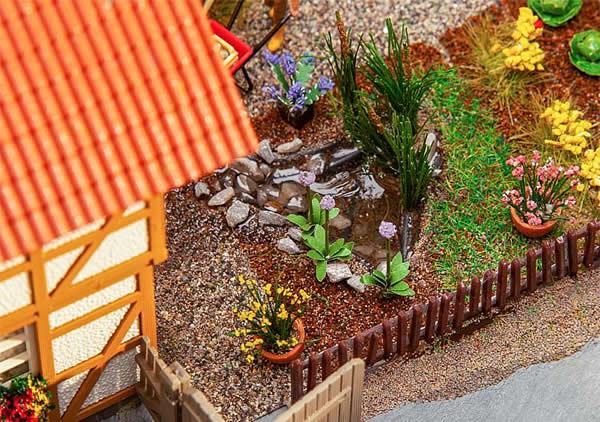 Faller 180973 - 7 Garden pools