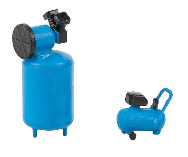 Faller 180977 - 2 Workshop compressors