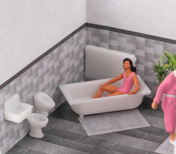 Faller 180993 - Bathroom tiles Set